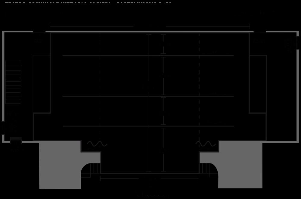 teatro Vittorio Alfieri Castelnuovo Berardenga pianta palco