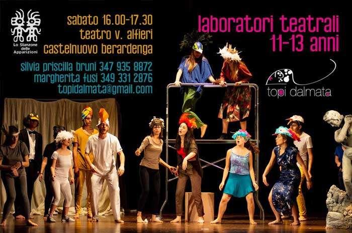 stage e laboratori teatro Vittorio Alfieri Castelnuovo Berardenga